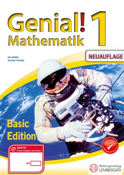 Genial! Mathematik 1 - Übungsteil Basic Edition