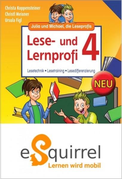 eSquirrel - Lese- und Lernprofi 4 - Schullizenz PLUS