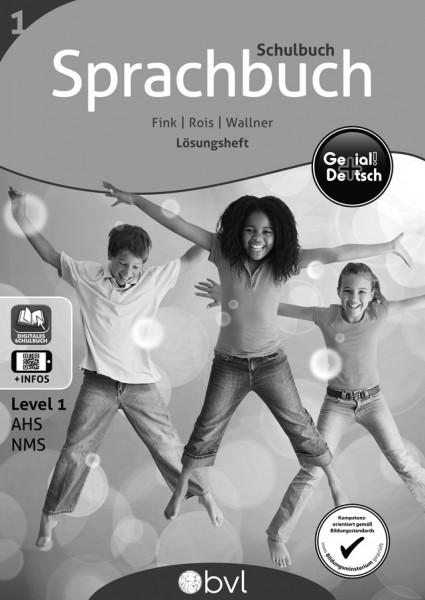 Genial! Deutsch 1 - Sprachbuch NEU: Schulbuch - Lösungsheft