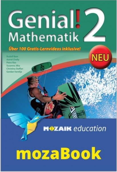 mozaBook - Genial! Mathematik 2 - Schulbuch NEU