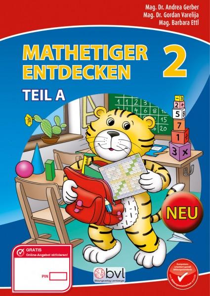 Mathetiger 2 - Schulbuch Teil A (für das 1. Semester)