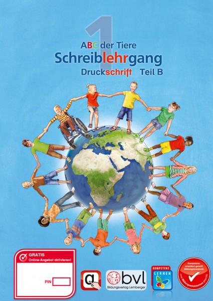 ABC der Tiere 1 - Schulbuch: Schreiblehrgang - Teil B (2. Semester)