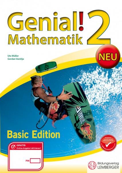 Genial! Mathematik 2 - Übungsbuch Basic Edition NEU