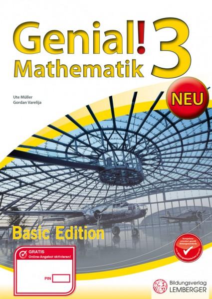 Genial! Mathematik 3 - Übungsteil Basic Edition