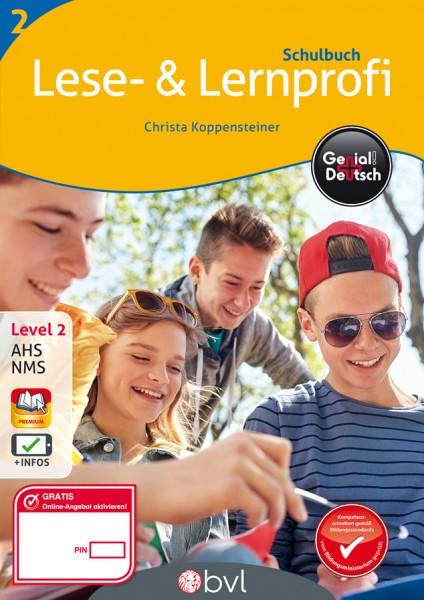 Genial! Deutsch 2 - Lese- und Lernprofi NEU: Schulbuch (mit Lösungsheft)