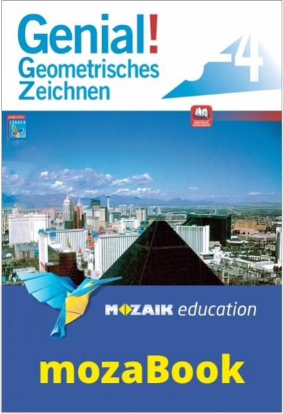 mozaBook - Genial! Geometrisches Zeichnen 3-4 - Schulbuch