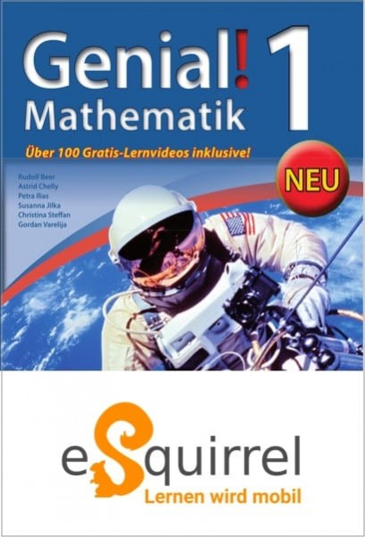 eSquirrel - Genial! Mathematik 1 - Schullizenz PLUS