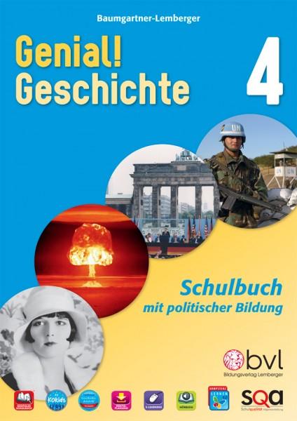 Genial! Geschichte 4 - Schulbuch (mit Lösungen)