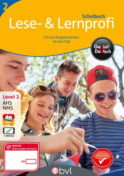 Genial! Deutsch 2 - Lese- und Lernprofi: Schulbuch (mit Lösungsheft)