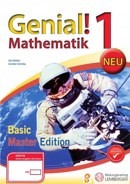 Genial! Mathematik 1 - Übungsbuch Basic + Master Edition NEU
