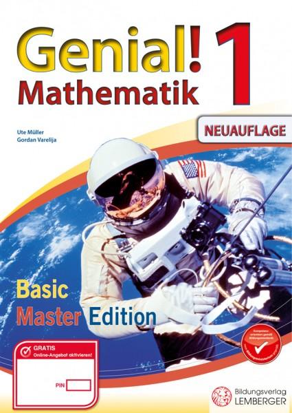 Genial! Mathematik 1 - Übungsteil Basic + Master Edition