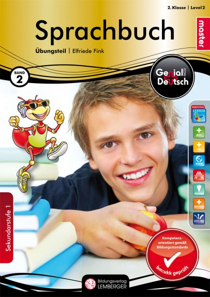 Genial! Deutsch 2 - Sprachbuch: Übungsteil Master Edition (mit Lösungsheft)