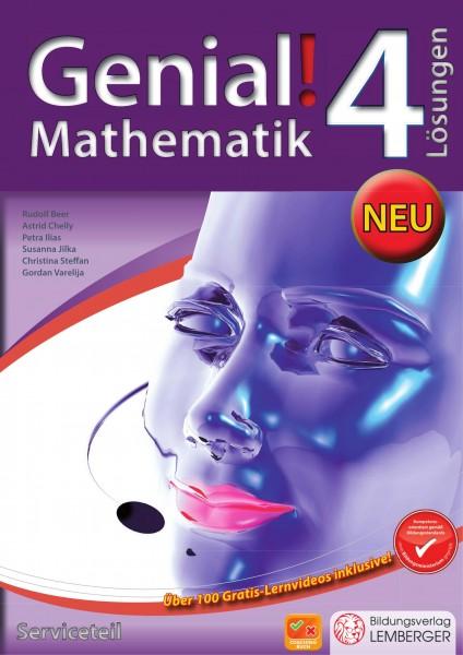 Genial! Mathematik 4 - Schulbuch IKT: Serviceteil mit Lösungen
