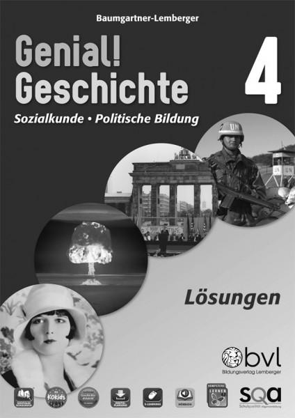 Genial! Geschichte 4 - Schulbuch Version 2.1: Lösungen