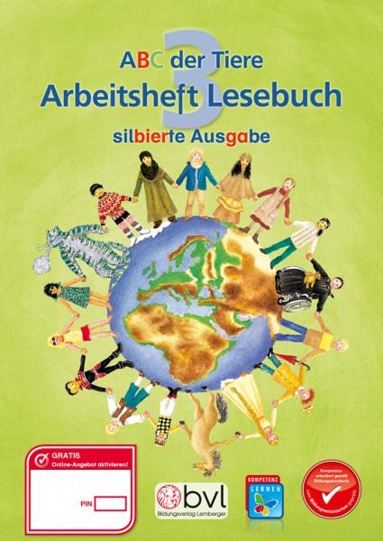 ABC der Tiere 3 - Schulbuch: Lesebuch Arbeitsheft - Silbenausgabe
