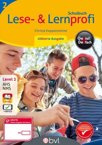 Genial! Deutsch 2 - Lese- und Lernprofi: Schulbuch silbierte Ausgabe (mit Lösungsheft)