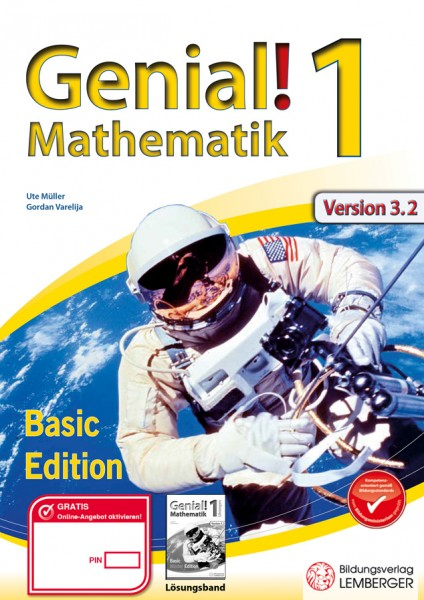 Genial! Mathematik 1 - Übungsteil IKT NEU: Basic Edition