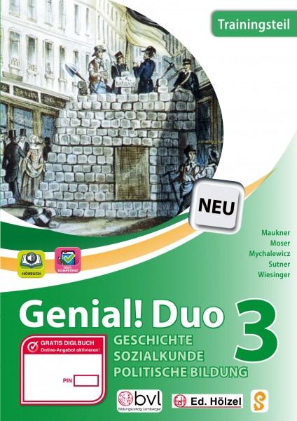 Genial! DUO Geschichte 3 - Trainings-Teil