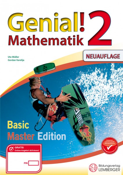 Genial! Mathematik 2 - Übungsteil Basic + Master Edition