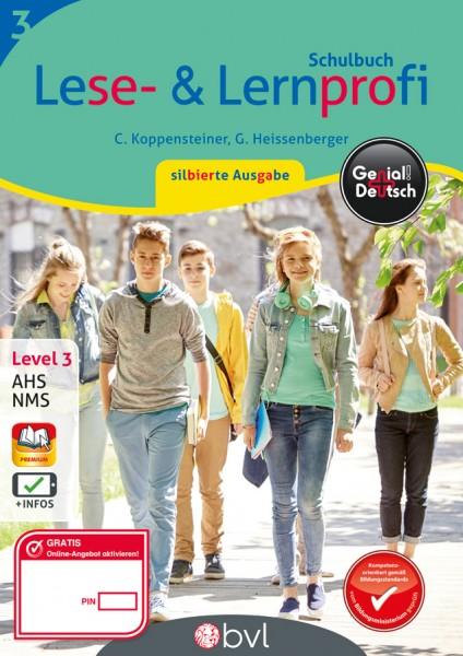 Genial! Deutsch 3 - Lese- und Lernprofi: Schulbuch silbierte Ausgabe
