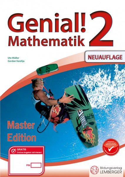 Genial! Mathematik 2 - Übungsteil Master Edition