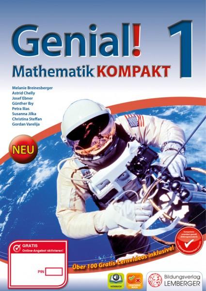 Genial! Mathematik 1 Kompakt - Schulbuch