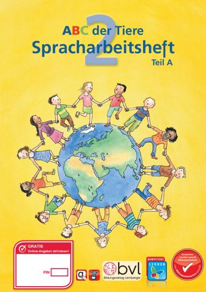 ABC der Tiere 2 - Schulbuch: Spracharbeitsheft Teil A (1. Semester)