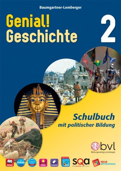 Genial! Geschichte 2 - Schulbuch (mit Lösungen)