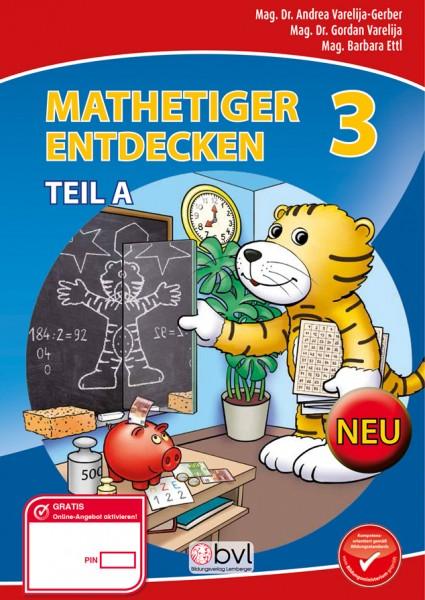 Mathetiger 3 - Schulbuch Teil A (für das 1. Semester)
