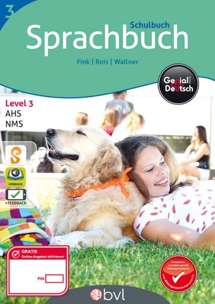 Genial! Deutsch 3 - Sprachbuch: Schulbuch (mit Lösungsheft)