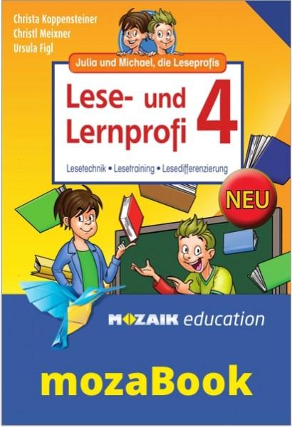 mozaBook - Lese- und Lernprofi 4 NEU - Schulbuch