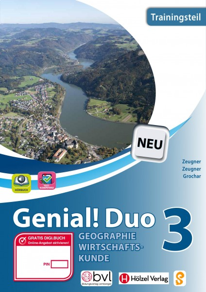 Genial! DUO Geographie/Wirtschaftskunde 3 - Trainings-Teil