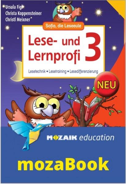 mozaBook - Lese- und Lernprofi 3 NEU - Schulbuch