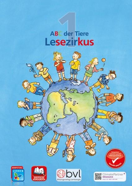 ABC der Tiere 1 - Schulbuch: Lesezirkus (erweitertes Lesematerial); inkl. 1 Beilage