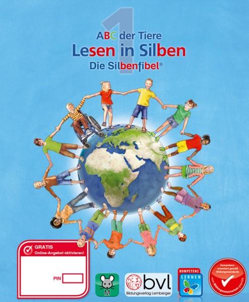ABC der Tiere 1 - Schulbuch: Lesen in Silben - Silbenfibel